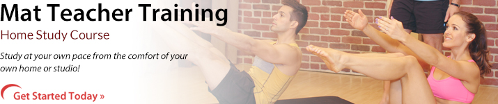 Mat Teacher Training, At Home Course